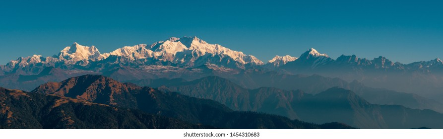 Kanchenjunga range sleeping Buddha on the Summer Trek 2018