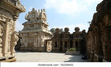 Kanchi Kailasanathar Temple in Kanchipuram, India