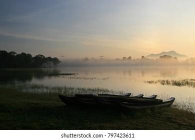 Kandamala Lake, close to Dambulla, Sri Lanka