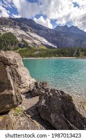 Das Kandersteg-Tal und der Oeschinen-See in der Schweiz