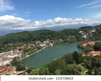 Kandy city, from above