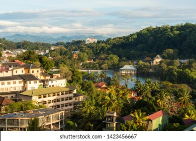 Kandy Lake, also known as Kiri Muhuda or the Sea of Milk, is an artificial lake in the city of Kandy, Sri Lanka