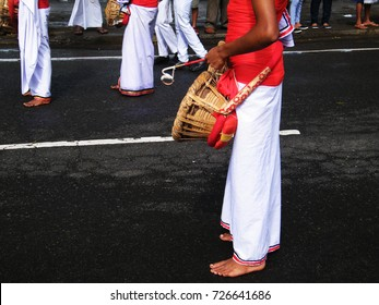 Kandy procession,Traditional drummers