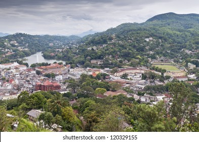 Kandy - second largest city located in the Central Province, Sri Lanka.