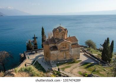 Kaneo, Ohrid, Macedonia - St John church