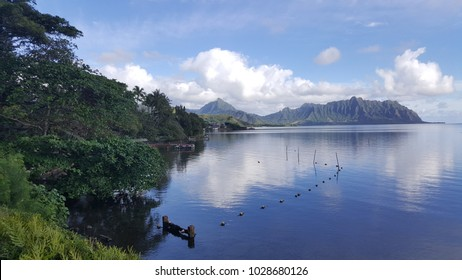 Kaneohe Bay - Reflections