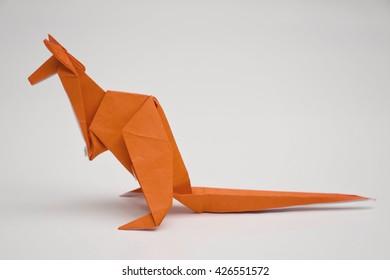A kangaroo origami