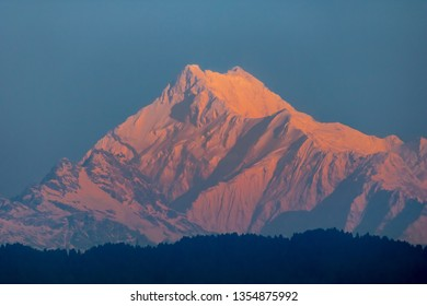 Kangchenjunga, Kangchenjunga, also spelled Kanchenjunga. is the third highest mountain in the world. It lies between Nepal and Sikkim, India, with three of the five peaks.and the remaining twin Nepal.