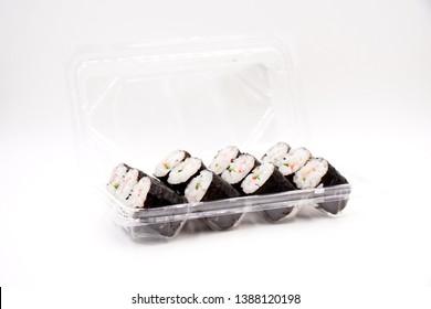 Kani Maki, Crab stick and cucumber sushi roll