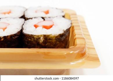 Kani Maki, Crab stick sushi roll