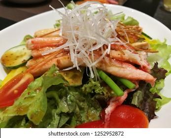 Kani Salad Japanese food