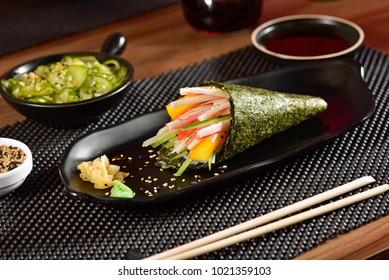 Kani kani Temaki Sushi