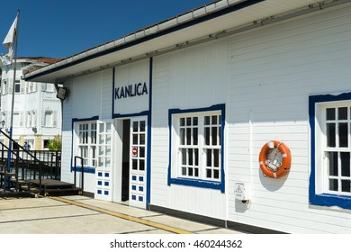 Kanlica ferry station of Istanbul, Turkey, 27 June 2016