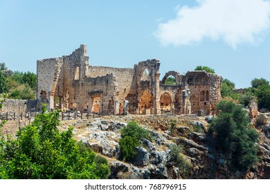 kanlidivane ancient city.(mersin,Turkey)