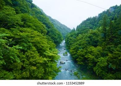 The Kanna River, Japan