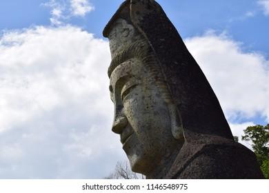 Kannon sama statue in utsunomiya