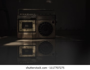 Kannur,Kerala,India  31 March 2018 The old is Gold , 90's Radio/Tap recorder .