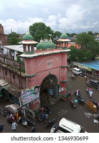 Kanpur , Uttar Pradesh / India - March 21 2019 : Yateem khana Kanpur where Muslims from all over kanpur come to pray. It is also called Mohammadan Orphanage Cawnpore