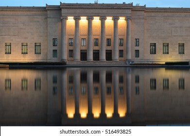 Kansas Art Museum Reflection