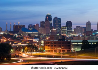 Kansas City. Image of the Kansas City skyline at sunrise.