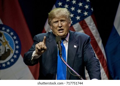 Kansas City Missouri, USA, 20th March, 2016 Presidential candidate Donald Trump rally in the Midland Theater, protesters are escorted out by police officers