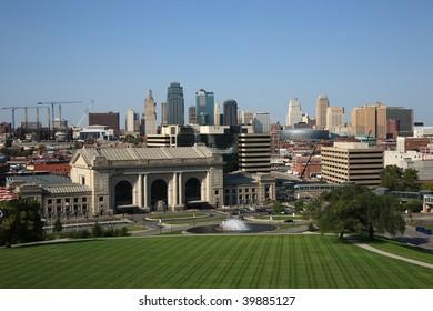 Kansas City Skyline with Union Station