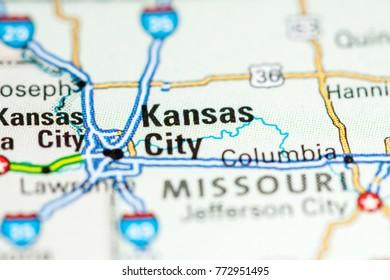 Map Kansas City Images, Stock Photos & Vectors | Shutterstock