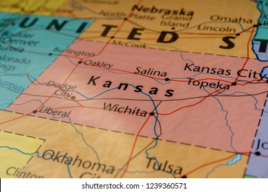 State Map Of Kansas And Oklahoma.Kansas Map Images Stock Photos Vectors Shutterstock