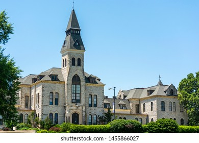 Kansas State University in Manhattan, Kansas on a Sunny Day