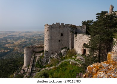 Kantara castle in Northern Cyprus
