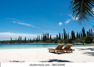 Kanumera Beach on the Isle of Pines in New Caledonia