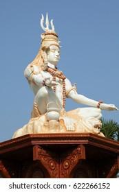 KANYAKUMARI - TAMILNADU- INDIA- Paramashiva statue in Vivekananada ashram Kanyakumari.  APRIL-14-2017.-APRIL-14-2017-KANYAKUMARI-TAMILNADU-INDIA.