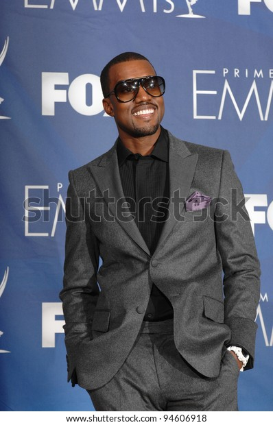 Kanye West at the 59th Primetime Emmy Awards at the Shrine Auditorium. September 17, 2007 Los Angeles, CA Picture: Paul Smith / Featureflash