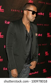 "Kanye West  at the Los Angeles Premiere of Kanye West's film debut ""Runaway,"" Harmony Gold, West Hollywood, CA. 10-18-10"
