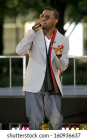 Kanye West on stage for ABC Good Morning America Summer Concert, Lincoln Center, New York, NY, September 02, 2005