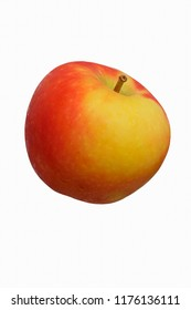Kanzi apple (Malus domestica Nicoter). Hybrid between Gala apple and Braeburn apple.