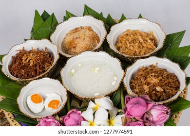 Kao-Chae (Cooked Rice Soaked in Iced Water and Eaten with the Usual Complementary Food, Chilled Rice)