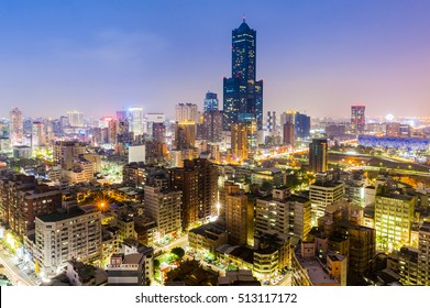 Kaohsiung City Night View