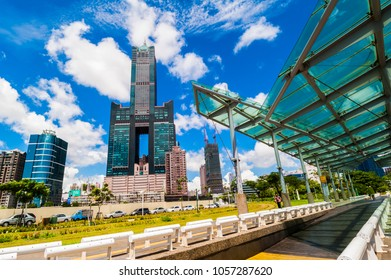 KAOHSIUNG, TAIWAN, 11 JANUARY 2017: Southern located in Taiwan, is a port city, has developed rapidly in recent years, many foreign visitors have come to play and 11 JANUARY 2017 in Kaohsiung.