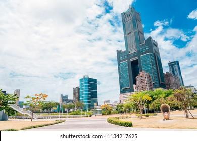 Kaohsiung, Taiwan - May 6, 2018 : 85 sky tower modern building