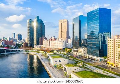 Kaohsiung, Taiwan, Kaohsiung Port, Cityscape