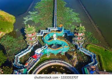 Kaohsiung's famous tourist attractions - Aerial view