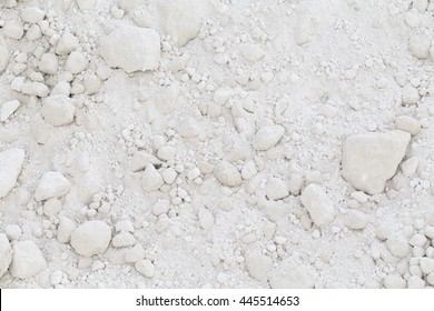Kaolin excavation for ceramics industry