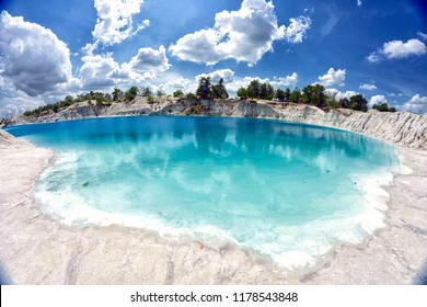 Kaolin Lake in Belitung