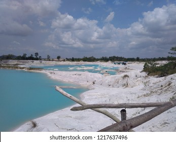 Kaolin Lake on Belitung Island