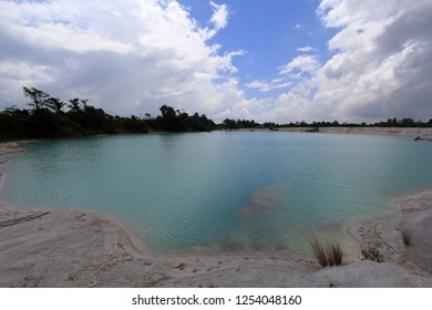 Kaolin Lake, Tourist Destinations at Belitung Island Indonesia