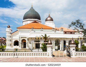 The Kapitan Keling mosque (masjid) in the heart of Georgetown in Penang, Malaysia