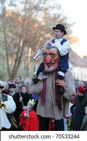 KAPOSVAR, HUNGARY - FEBRUARY 5: Unidentified participants at the 34th Dorottya and Carnival Days February 5, 2011 in Kaposvar, Hungary.