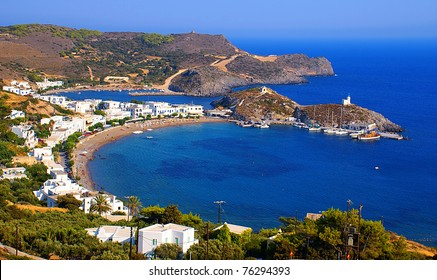 Kapsali village at Kithira island in Greece