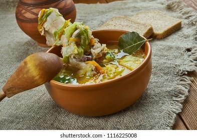 Kapusta - Belarusian cabbage soup
